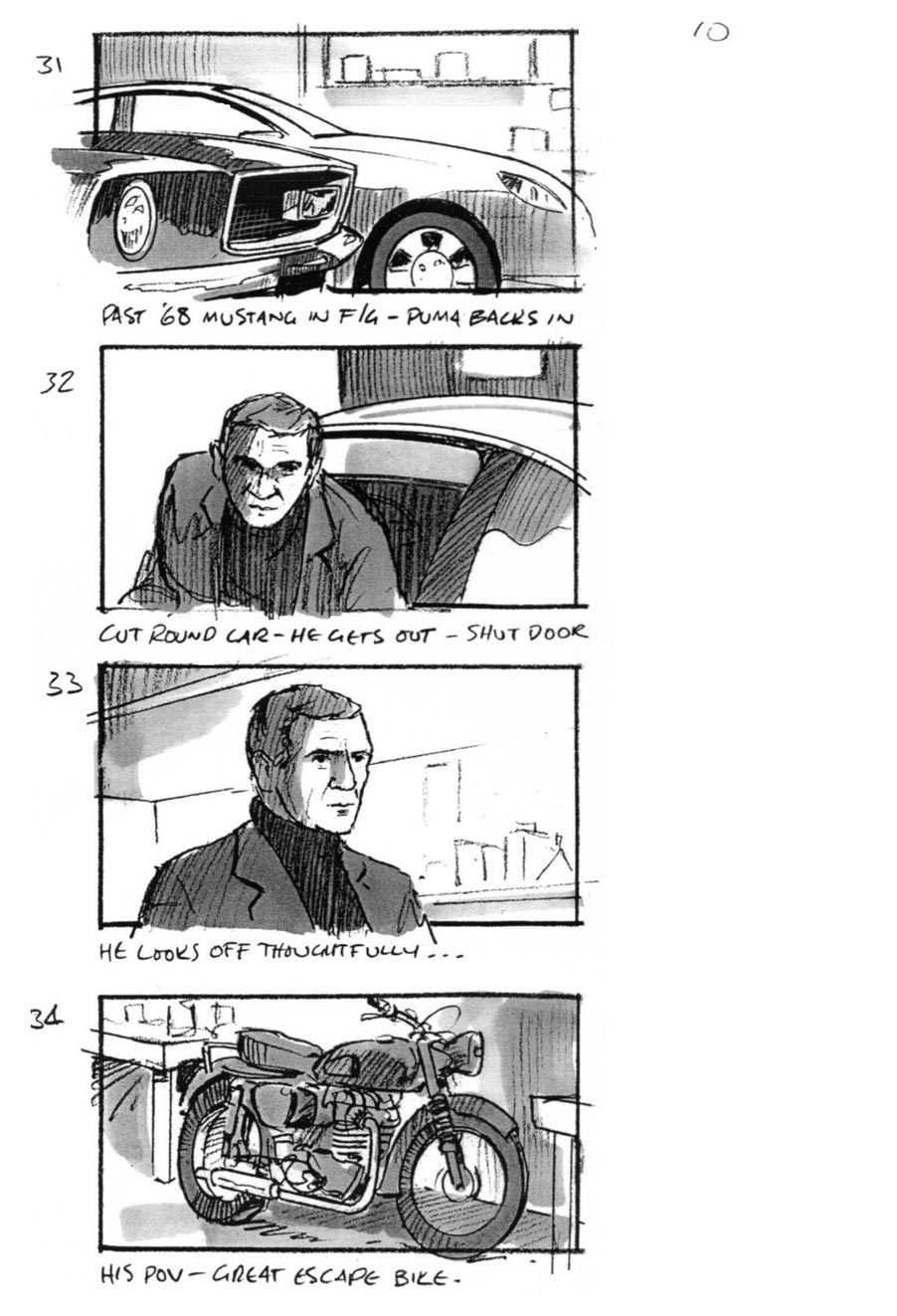 Ford Puma Car Commercials By Storyboard Artist By Douglas