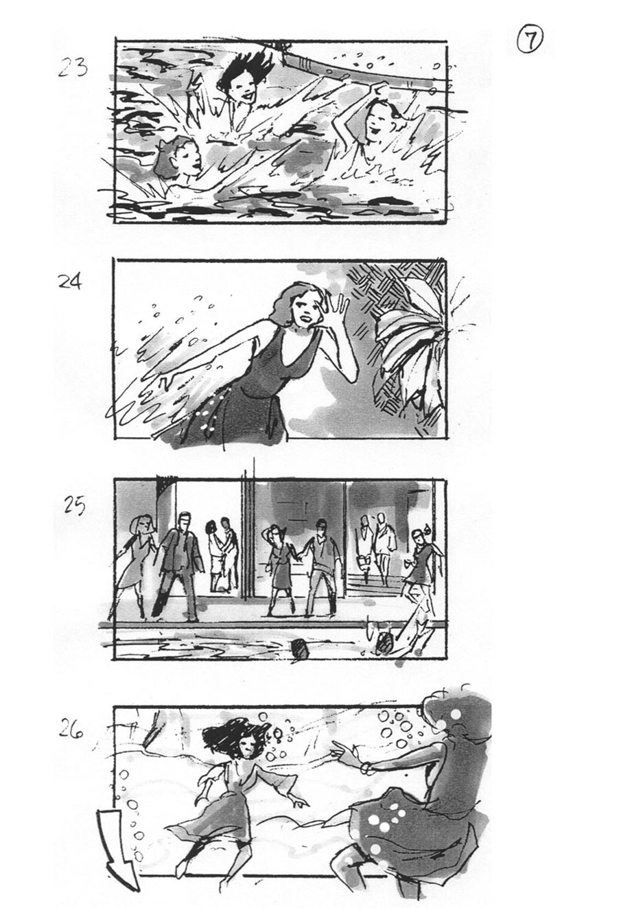 douglas ingram, storyboard art, lincoln car commercial