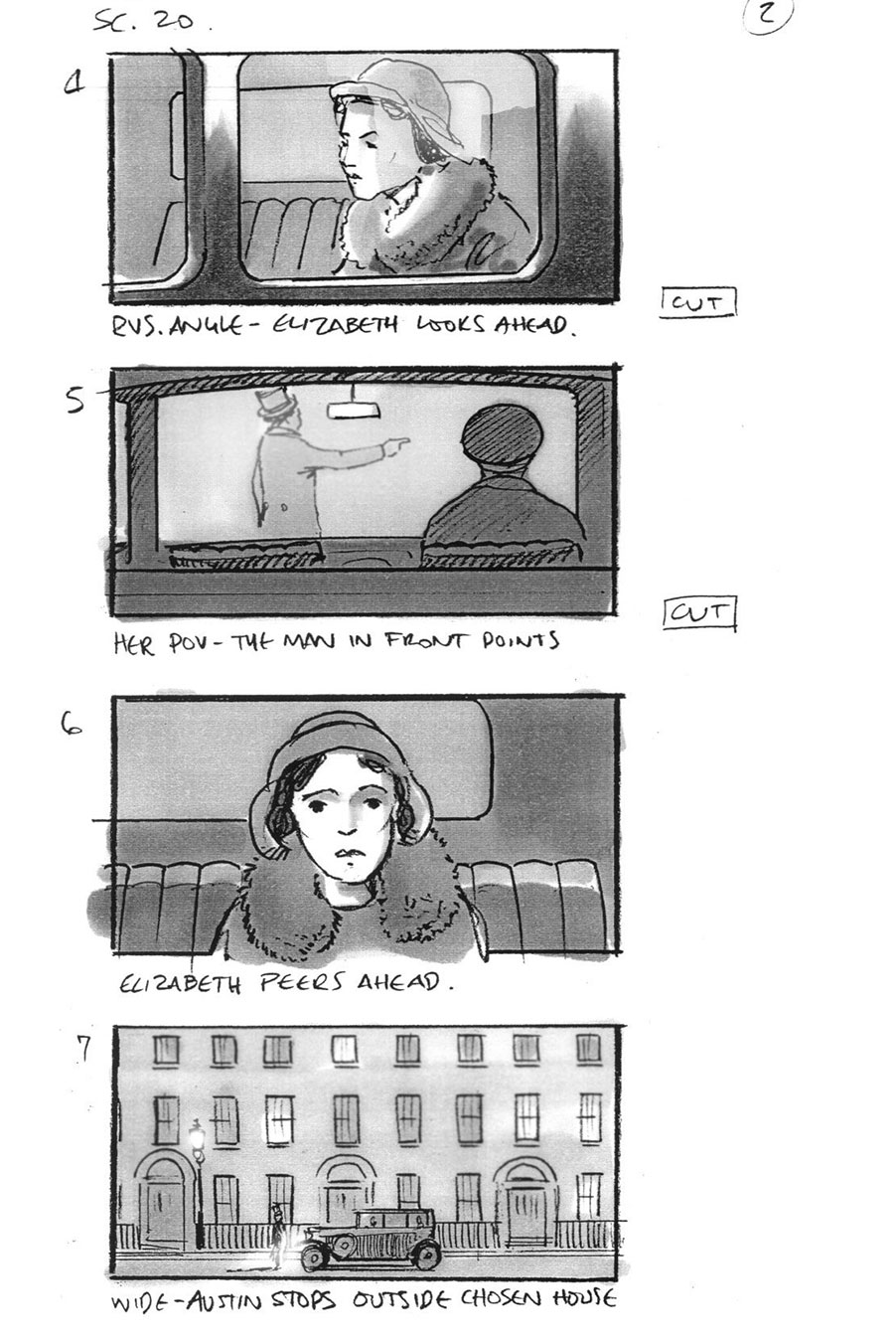 douglas ingram, storyboard art, the king's speech