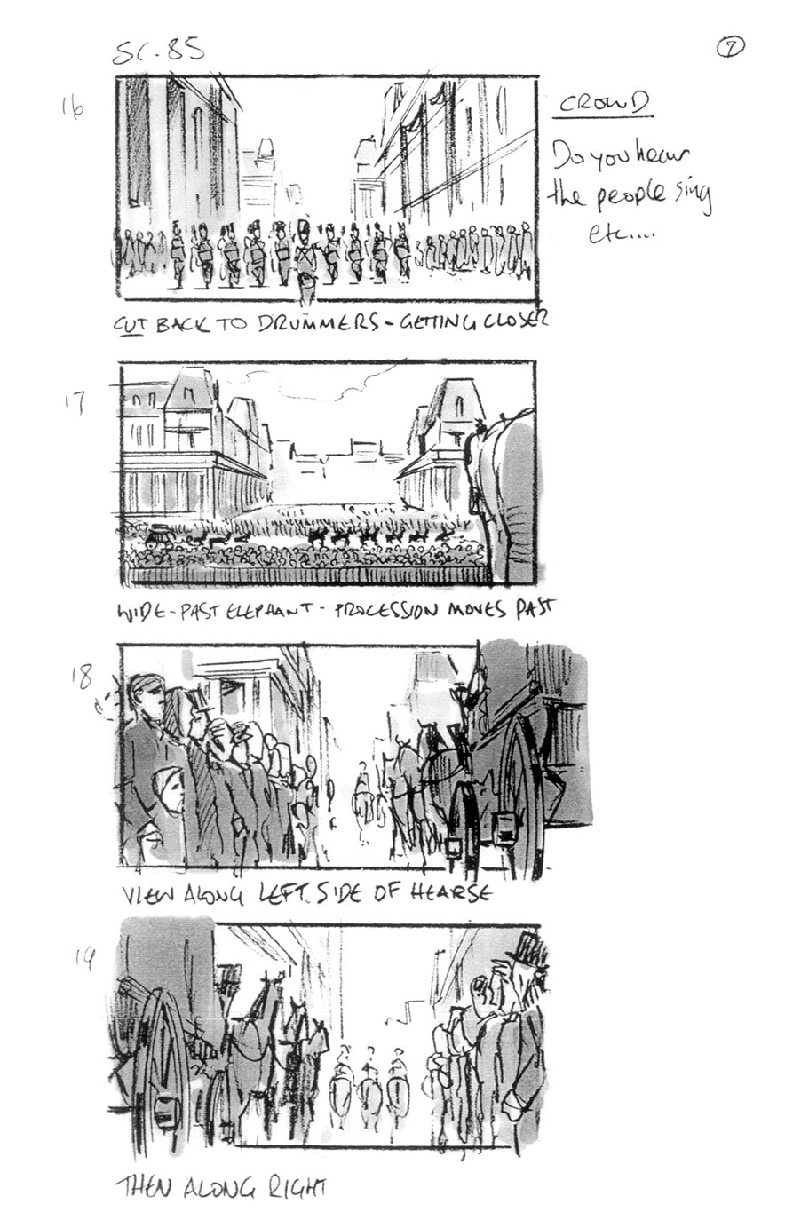 douglas ingram, storyboard art, les miserables