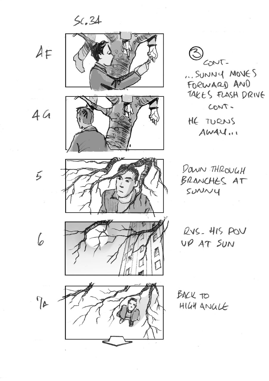 douglas ingram, storyboard art, hard sun, television